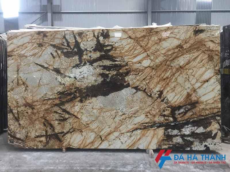 Đá marble solarius gold