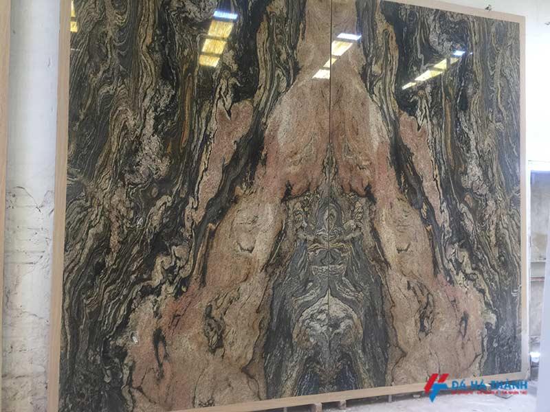 Tranh đá marble ốp tuongf phòng khách