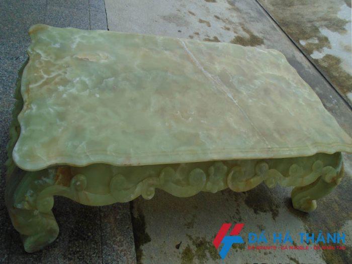 bàn ghế đá ngọc tự nhiên