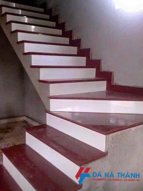 Đá đỏ ruby ấn độ ốp cầu thang