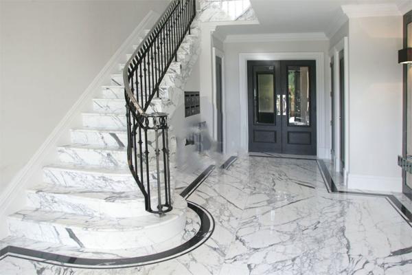 Đá granite lát ốp cầu thang