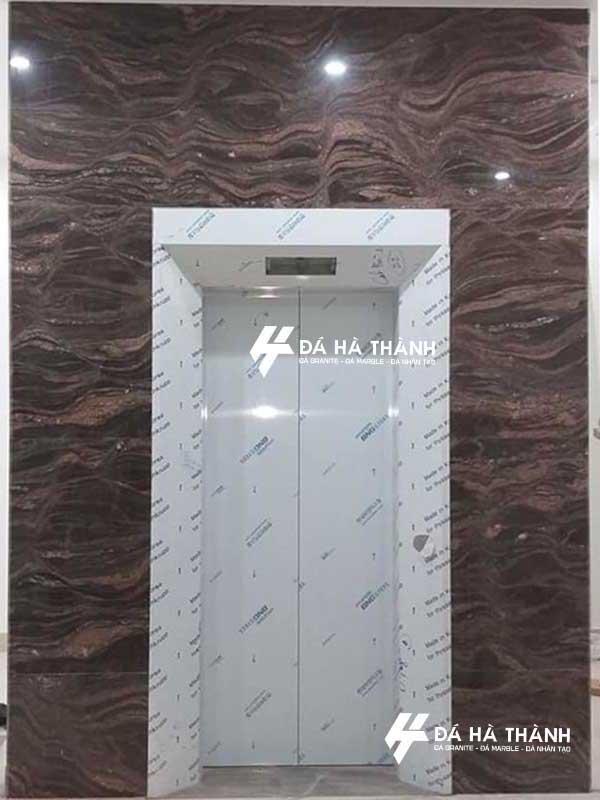 đá granite ốp thang máy đep