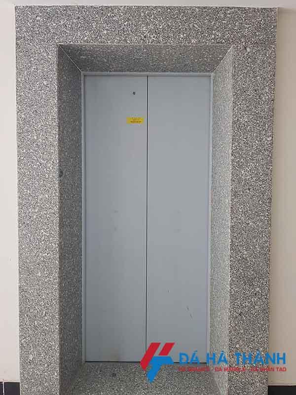 đá granite trắng suối lau ốp thang máy đẹp giá rẻ