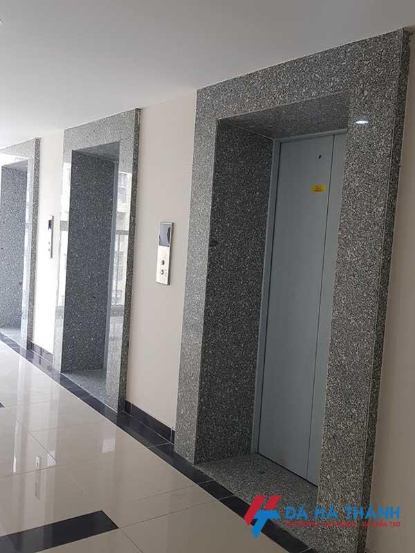 đá granite trắng suối lau ốp thang máy đẹp rẻ