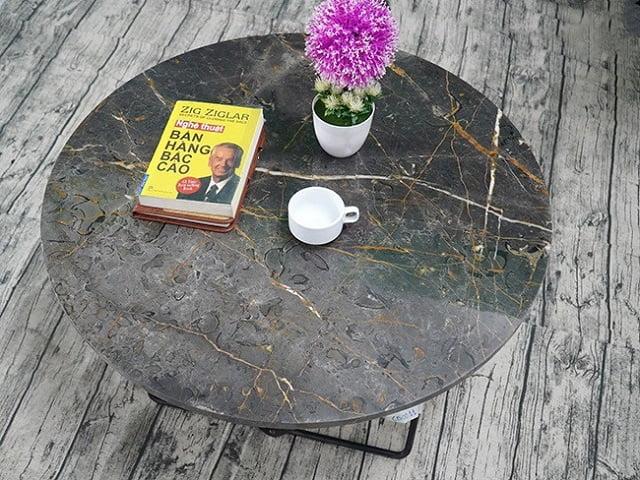 Mặt bàn ốp đá nhập khẩu Brozite