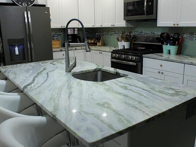 đá bếp marble