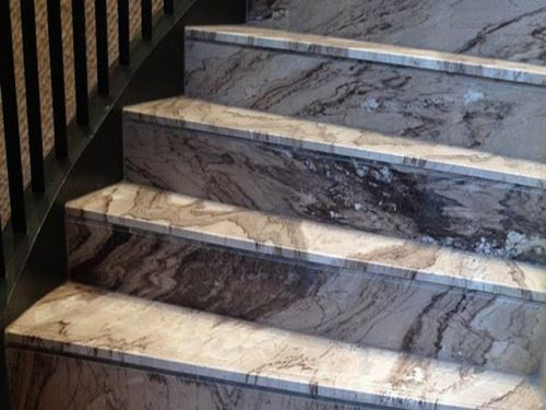 da marble palissandro op cau thang