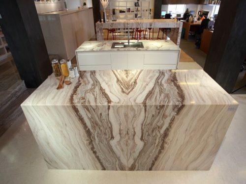 da marble palissandro op mat ban