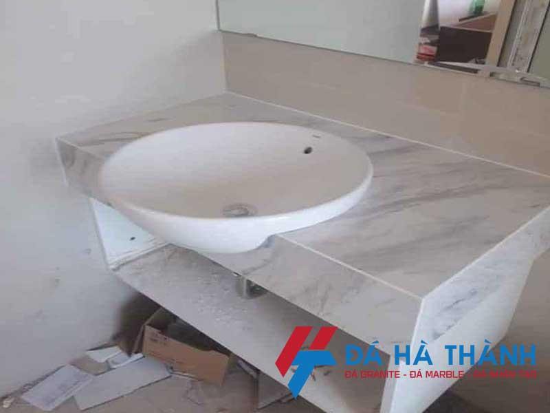 lavabo bán âm đá nhân tạo