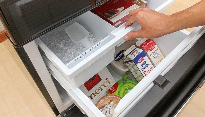 Không nên để tủ lạnh hoặc tủ gạo bị trống