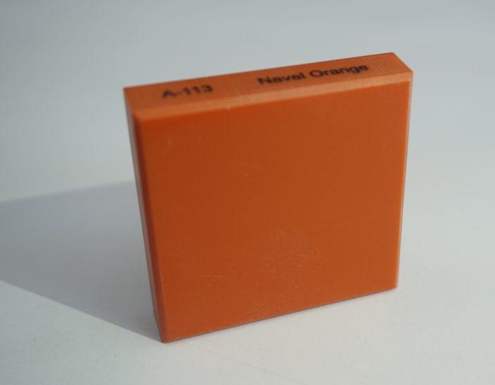 đá nhân tạo Solid Surface A113 Navel Orange