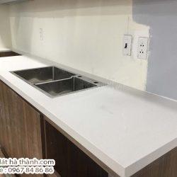 sửa chữa đá bàn bếp tại chung cư hh3a linh đàm hoàng mai hà nội