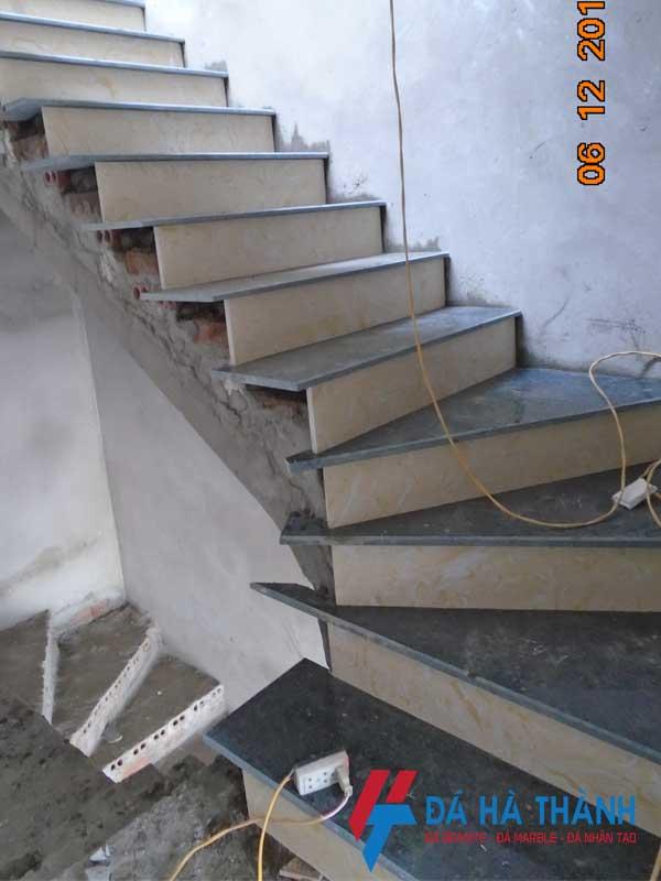 thi công đá ốp lát cầu thang