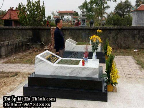 thi công đá ốp mộ tại Bắc Ninh